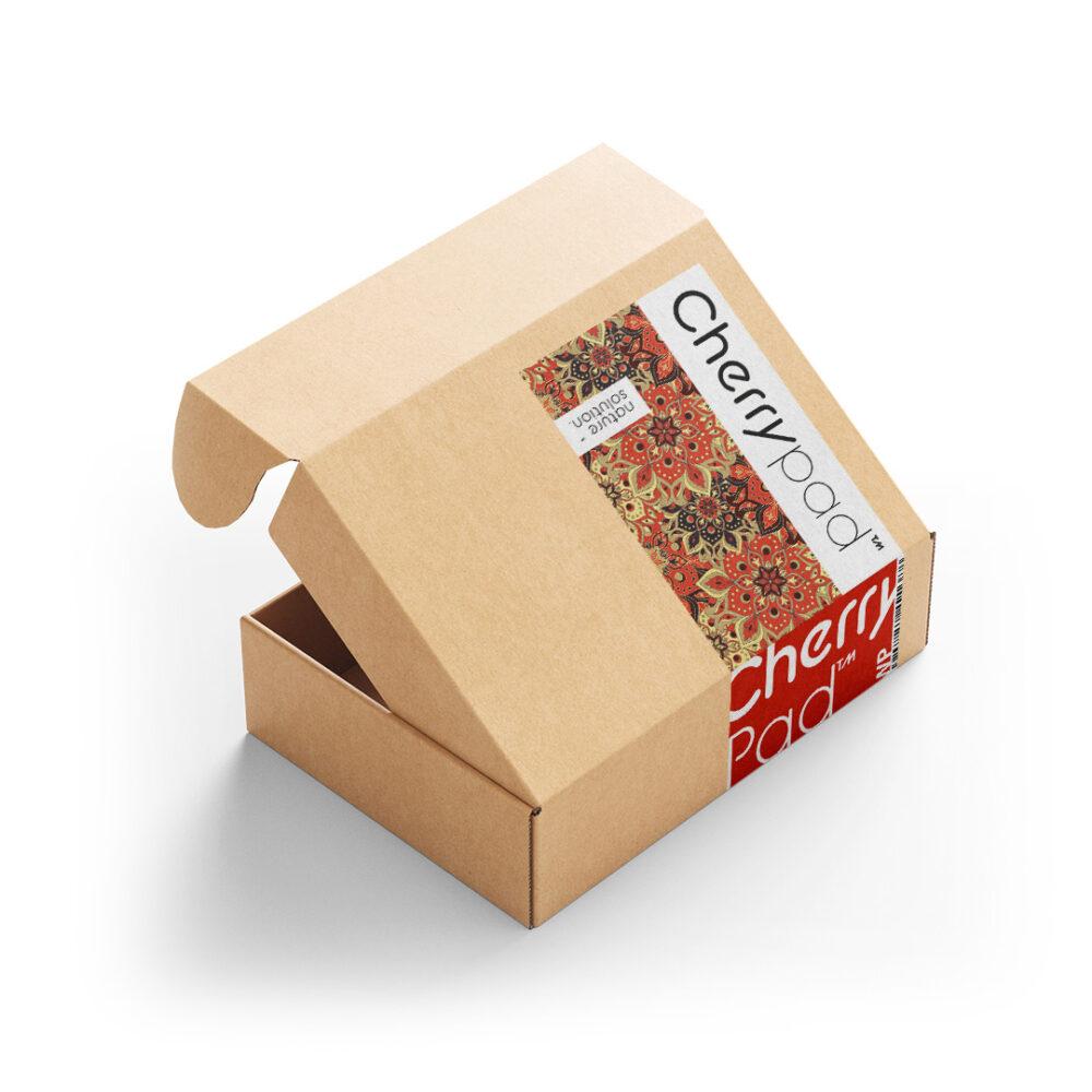 Wkład miętowy mięta lawenda lawendowy aromaterapia Cherrypad™ pestki wiśni termofor z pestek pachnący