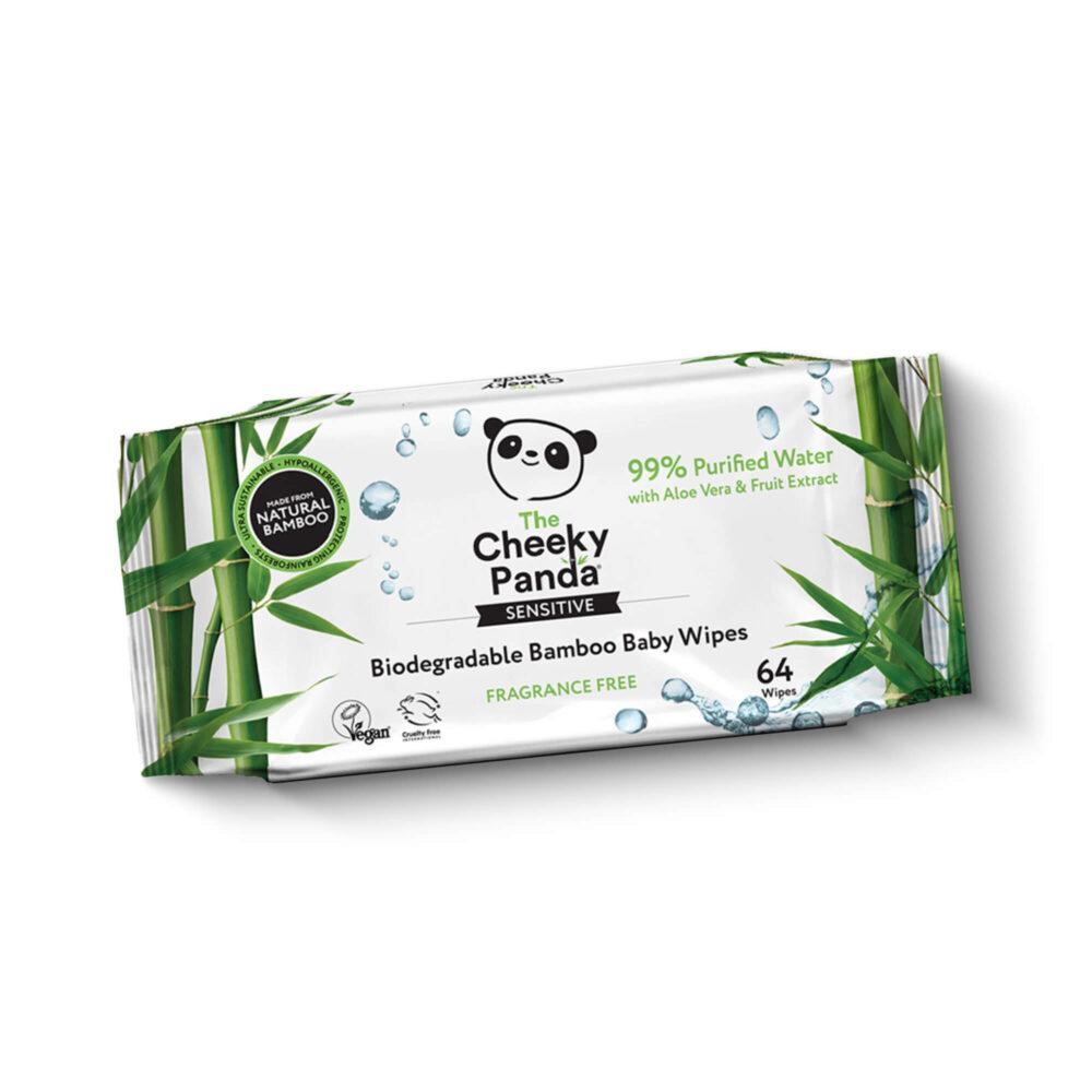 Cheeky Panda - bambusowe chusteczki nawilżane nature solution