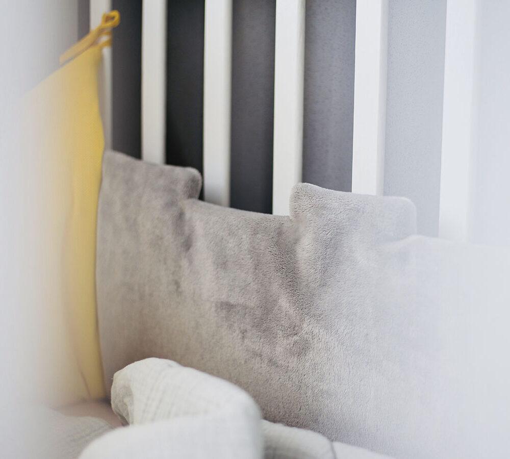 Ochraniacz do łóżeczka naturę Solution korona piękny premium