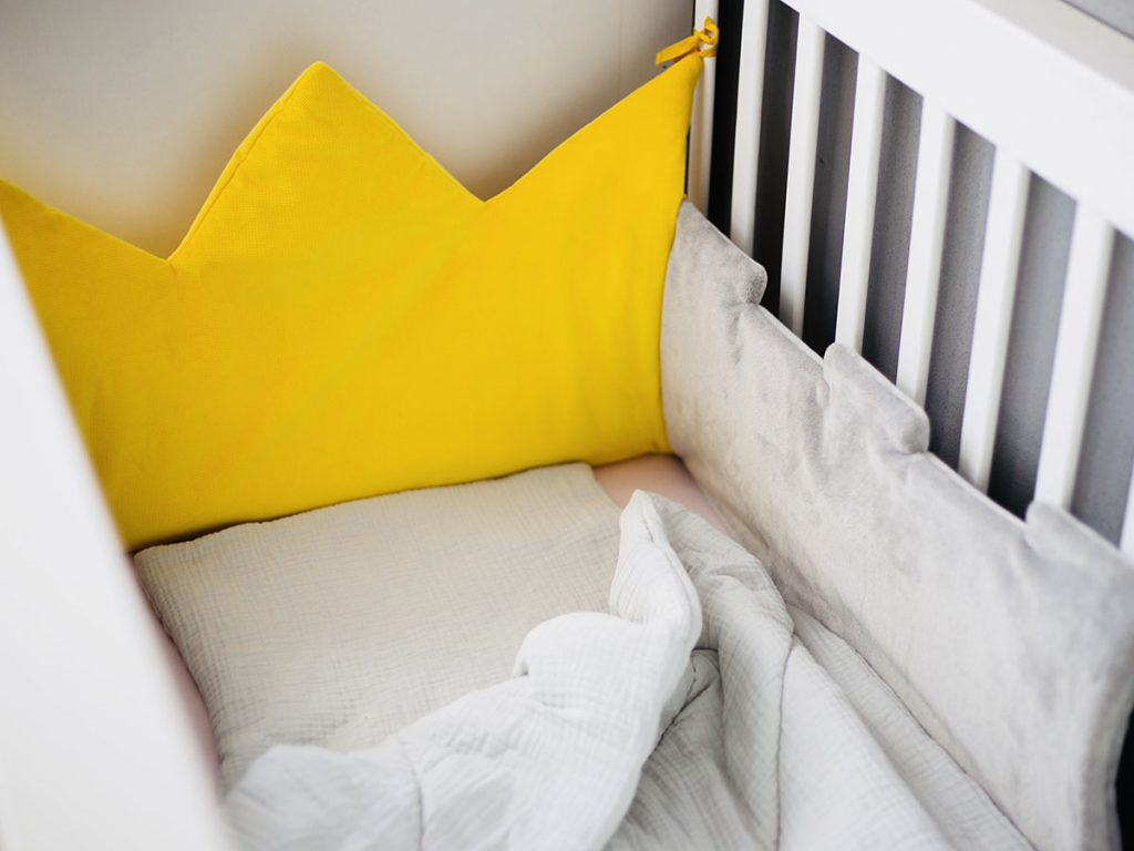 vOchraniacz do łóżeczka naturę Solution korona piękny premium